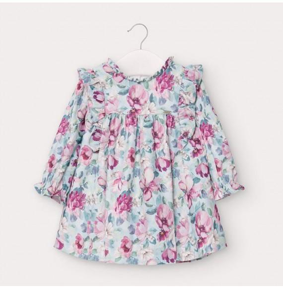 Vestido micropana estampado Bebé niña Mayoral 2957