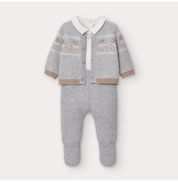 Conjunto tricot 3 Piezas Bebe niño Mayoral 2559